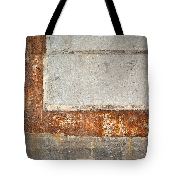 Carlton 14 - Abstract Concrete Wall Tote Bag