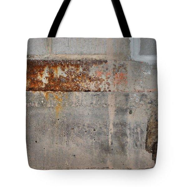 Carlton 16 Concrete Mortar And Rust Tote Bag