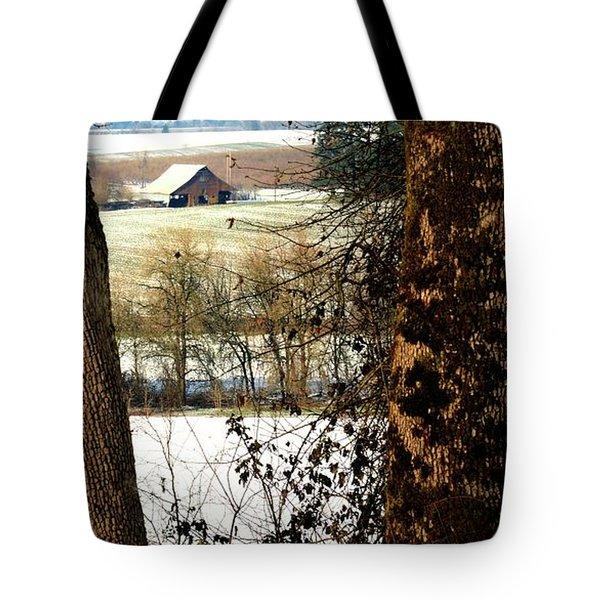Carlton Barn Tote Bag