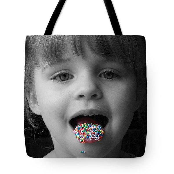Carly With Hundreds And Thousands Tote Bag