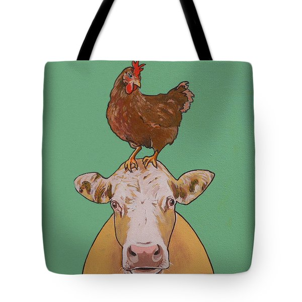 Carlyle The Cow Tote Bag