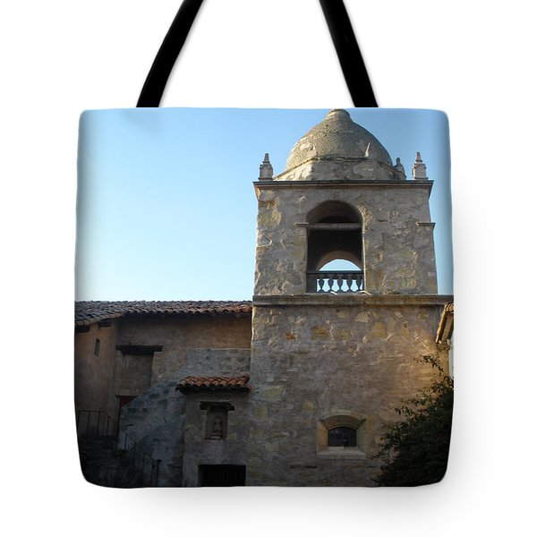 Carmel Mission Tote Bag