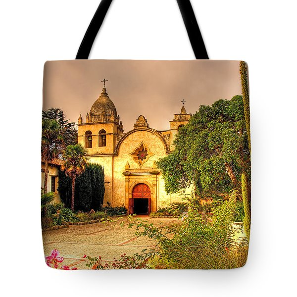 Carmel Mission Tote Bag