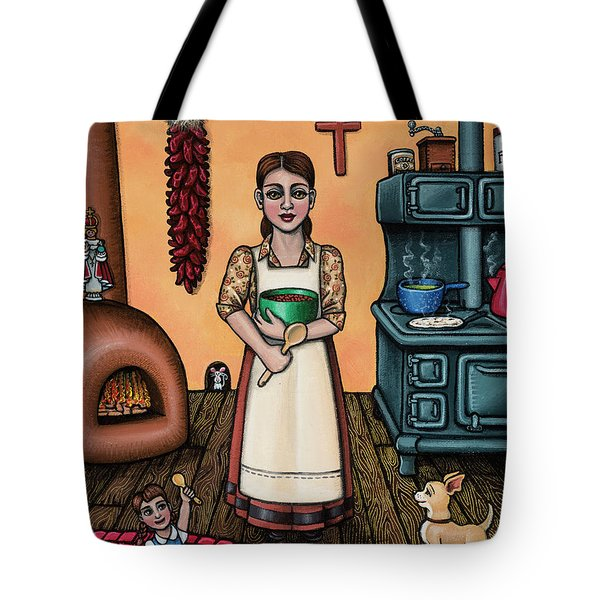 Carmelitas Kitchen Art Tote Bag