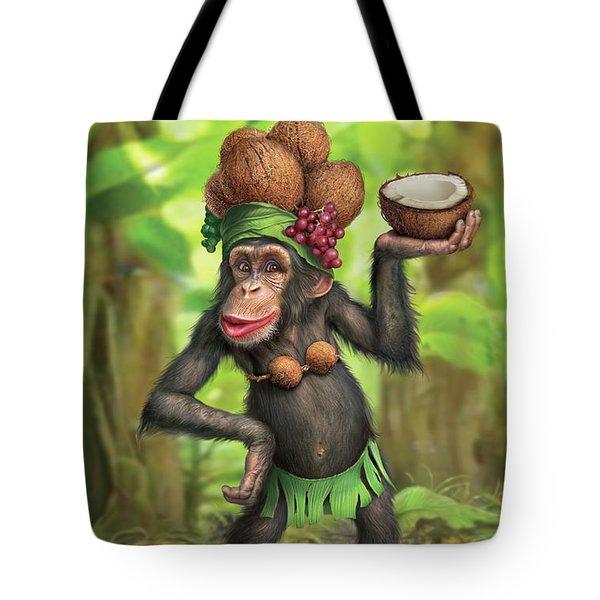 Carmen Coconuts Tote Bag