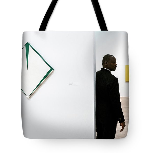 Carmen Herrera At The Whitney 1 Tote Bag