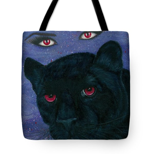 Carmilla - Black Panther Vampire Tote Bag