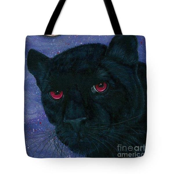 Carmilla - Black Panther Vampire Tote Bag