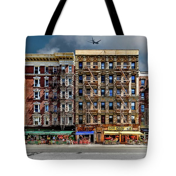Tote Bag featuring the photograph Carmine Street by Chris Lord