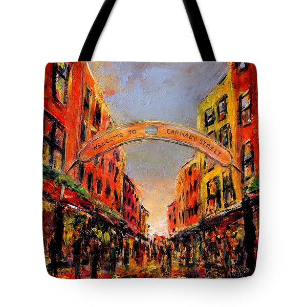 Carnaby Street London Tote Bag