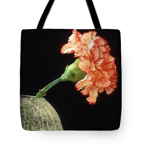 Carnation Tote Bag by Laurie Paci