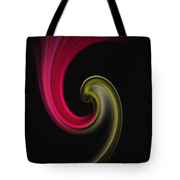Carnation Twirl Tote Bag