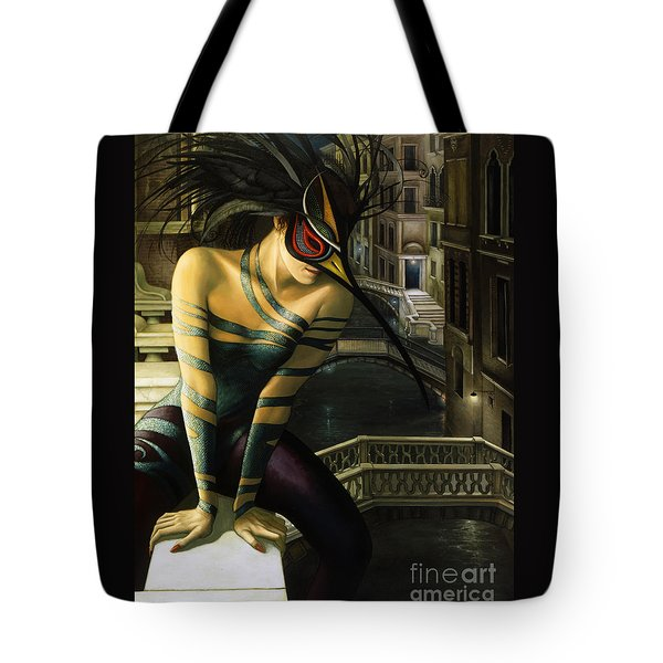 Carnavale Venezia Tote Bag by Jane Whiting Chrzanoska