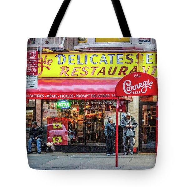 Carnegie Deli Tote Bag