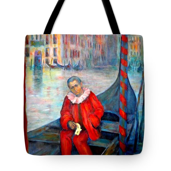 Carnaval In Venice Tote Bag