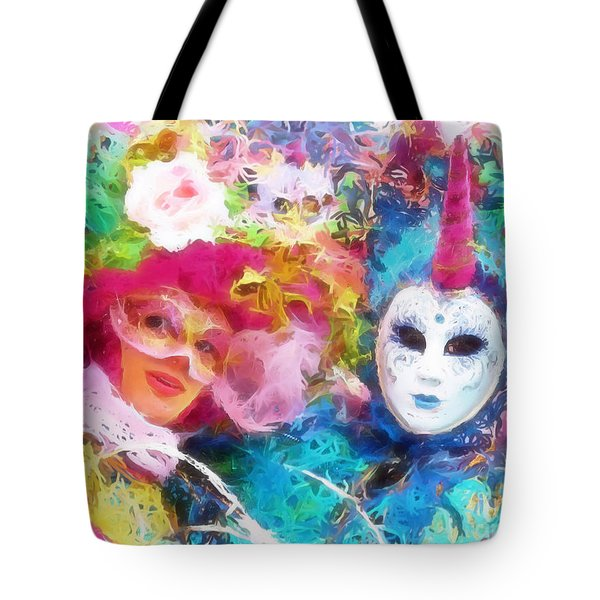 Carnevale Tote Bag by Jack Torcello
