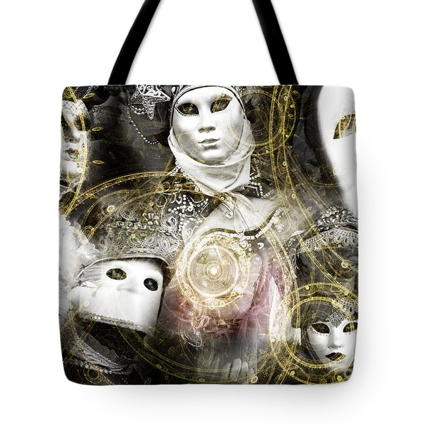 Tote Bag featuring the photograph Carnevale Venezia by John Rizzuto