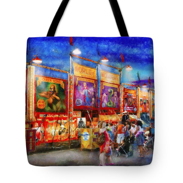 Carnival - World Of Wonders Tote Bag by Mike Savad
