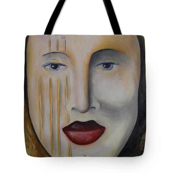 Carnival 1 Tote Bag by Leah Saulnier The Painting Maniac