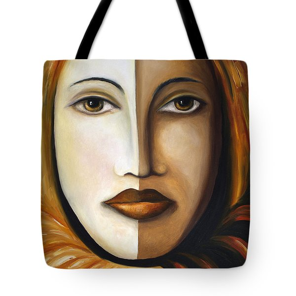 Carnival 4 Tote Bag by Leah Saulnier The Painting Maniac