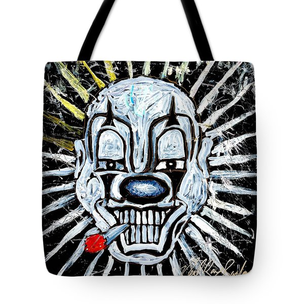 Carnival Clown Tote Bag