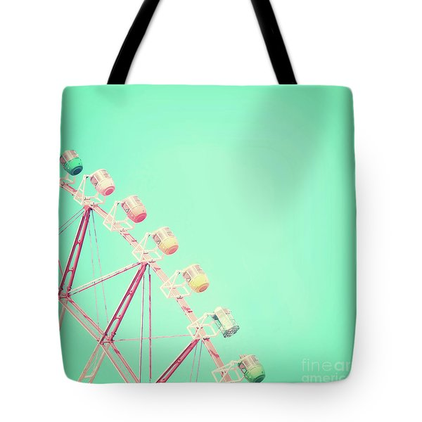 Tote Bag featuring the photograph Carnival by Delphimages Photo Creations