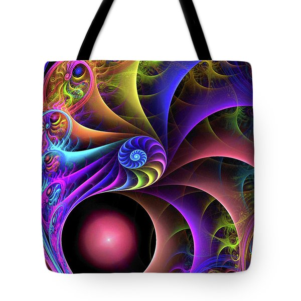 Carnival Tote Bag by Kathy Kelly