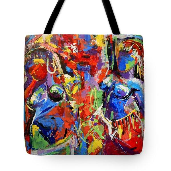 Carnival- Large Work Tote Bag