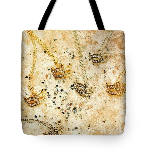 Carnival Masquerade Jewels Tote Bag