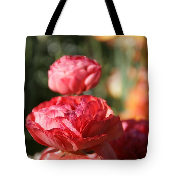Carnival Of Flowers 01 Tote Bag by Andrea Jean