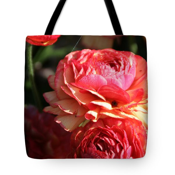 Carnival Of Flowers 02 Tote Bag by Andrea Jean