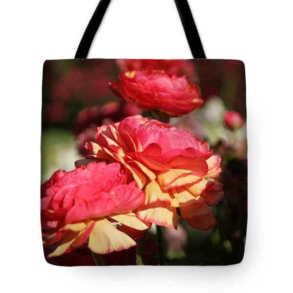 Carnival Of Flowers 03 Tote Bag by Andrea Jean