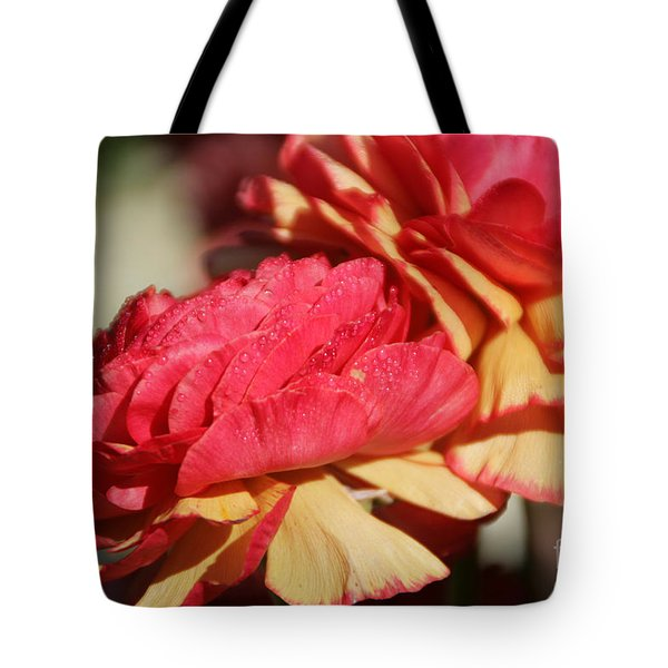 Carnival Of Flowers 05 Tote Bag by Andrea Jean