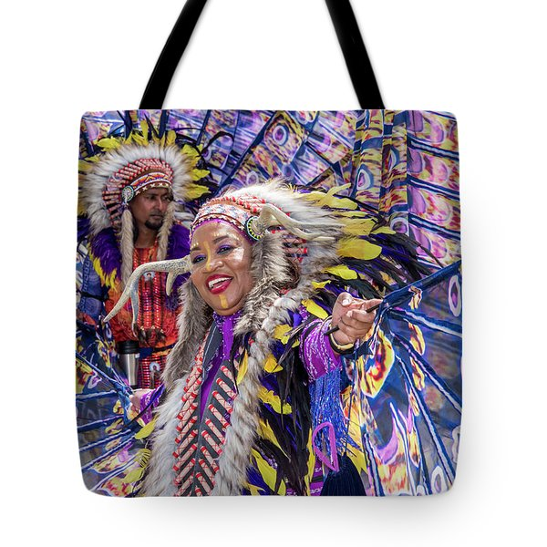Tote Bag featuring the photograph Carnival by Rachel Lee Young
