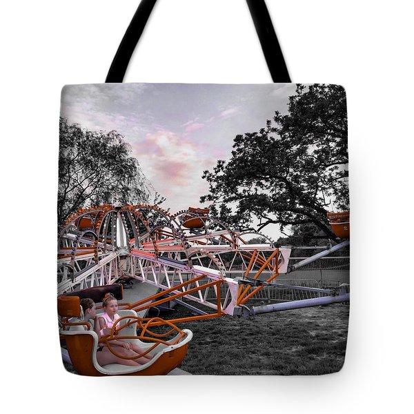 Carnival Ride Tote Bag