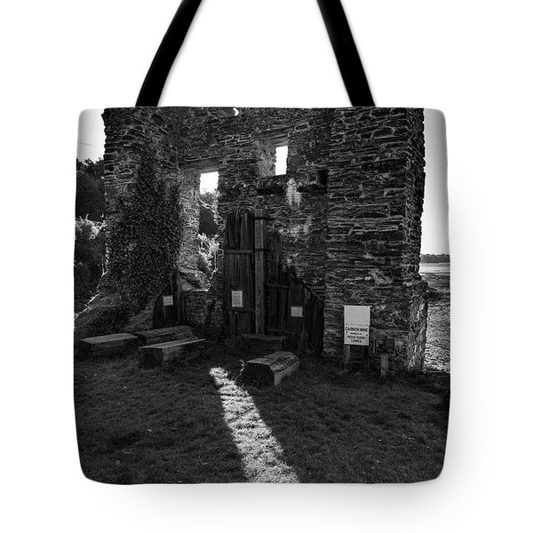 Tote Bag featuring the photograph Photographs Of Cornwall Carnon Mine by Brian Roscorla