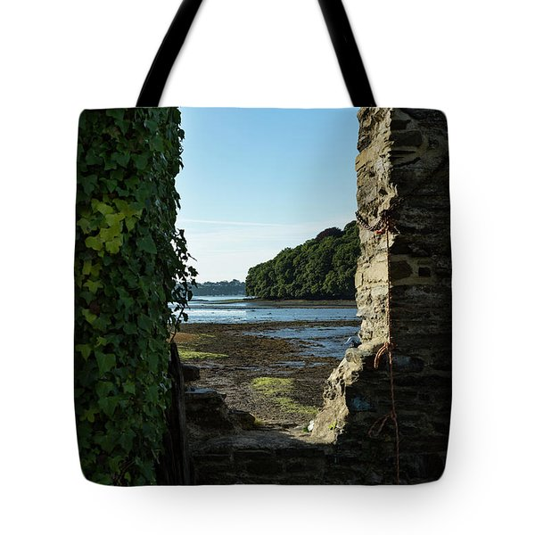 Tote Bag featuring the photograph Photographs Of Cornwall Carnon Mine Window by Brian Roscorla