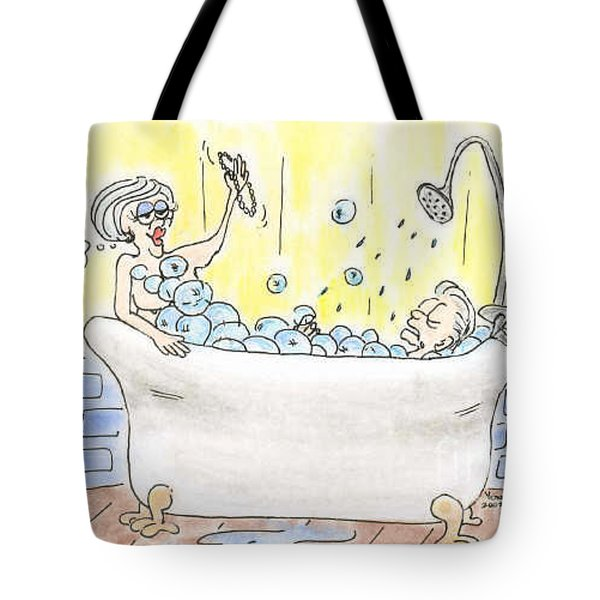 Carol And Kenny Tote Bag by Vonda Lawson-Rosa