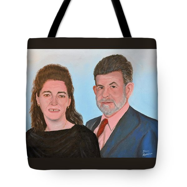 Carol And Max Tote Bag
