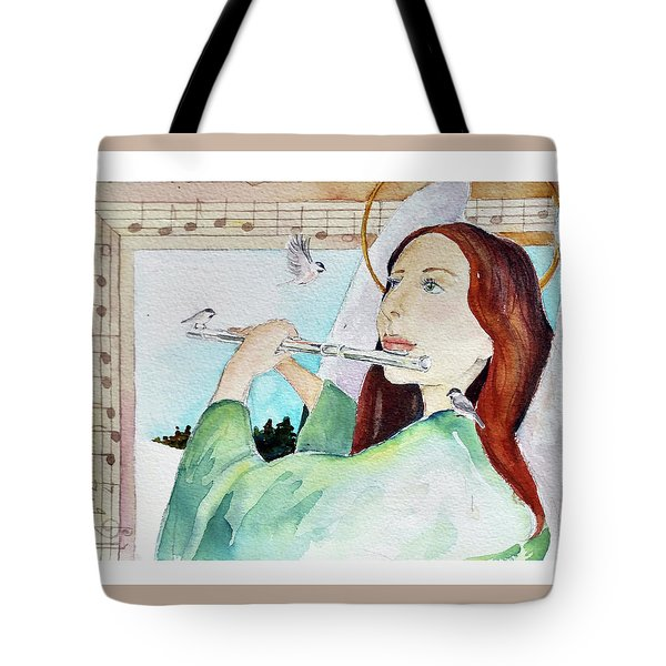 Carol Of The Birds Tote Bag