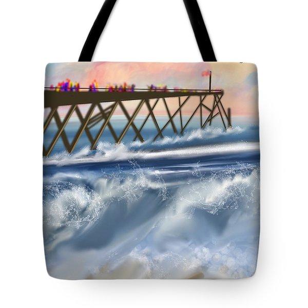 Carolina Beach Tote Bag