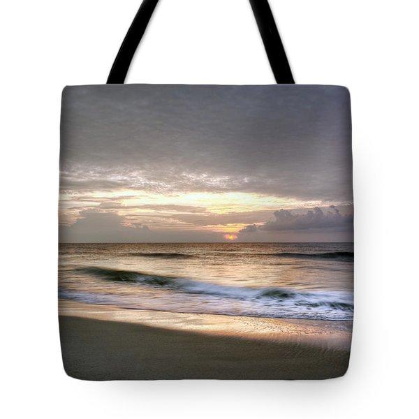 Carolina Beach Morning Tote Bag