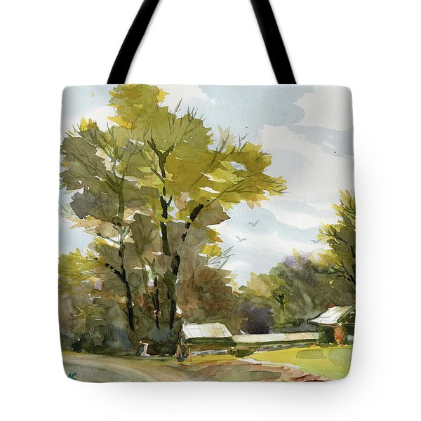 Carolina Farm Field Tote Bag