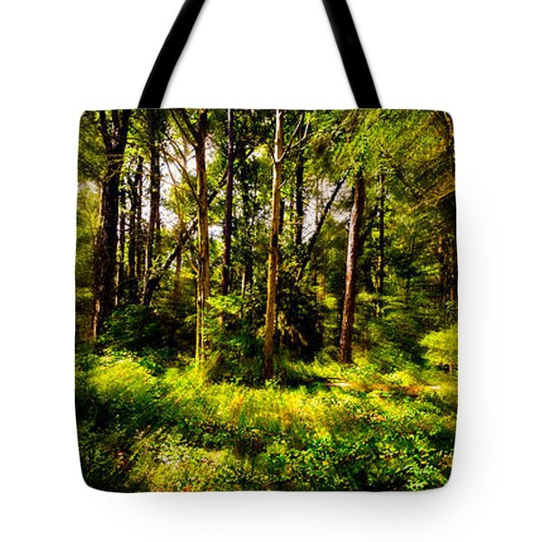 Carolina Forest Tote Bag