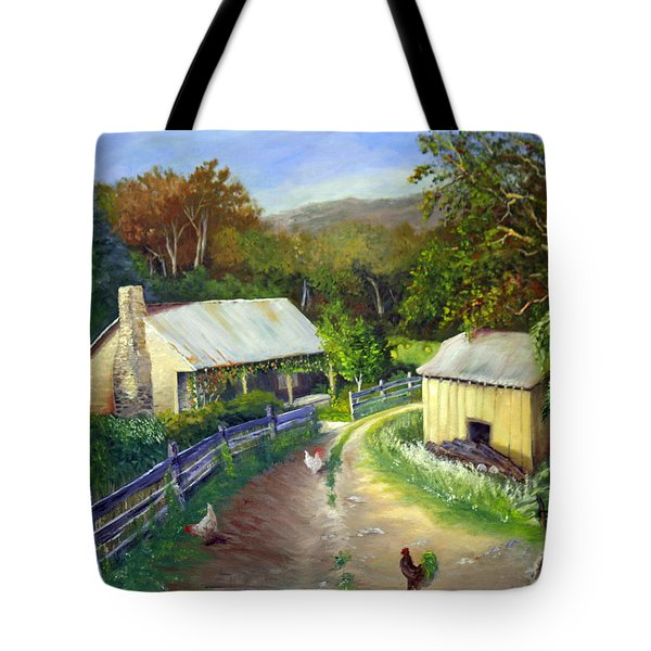 Carolina Homestead Tote Bag