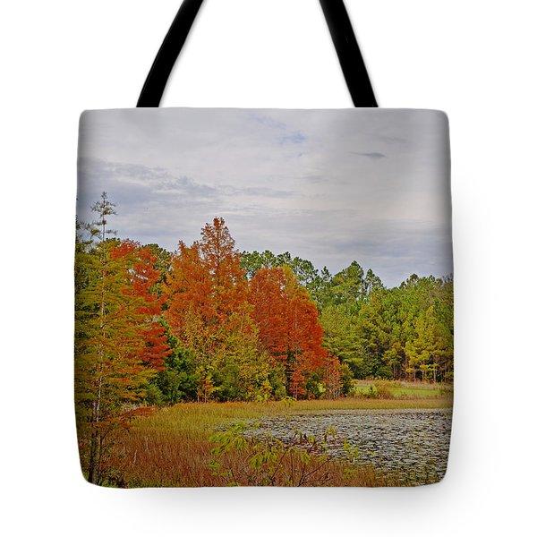 Carolina In The Fall Tote Bag by Linda Brown