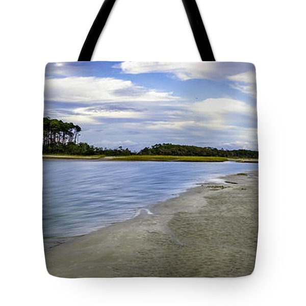 Carolina Inlet At Low Tide Tote Bag