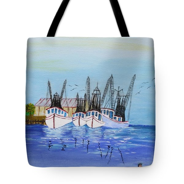 Carolina Shrimpers Tote Bag