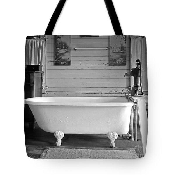 Tote Bag featuring the photograph Caroline's Key West Bath by John Stephens