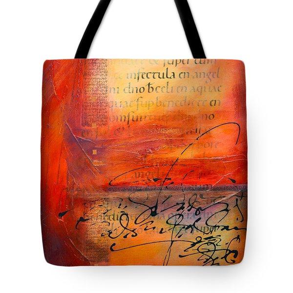 Carolingian Red Tote Bag